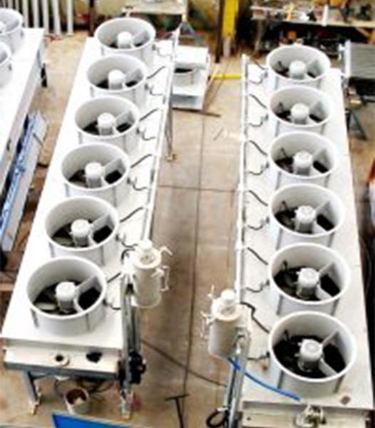 Trocadores de calor aletados