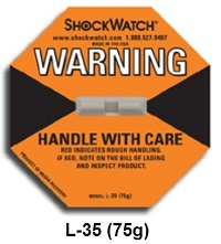 Etiqueta ShockWatch